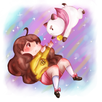 Bee and Puppycat by etto-sama