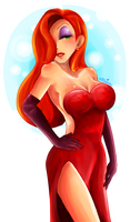 Jessica Rabbit idk-- by etto-sama