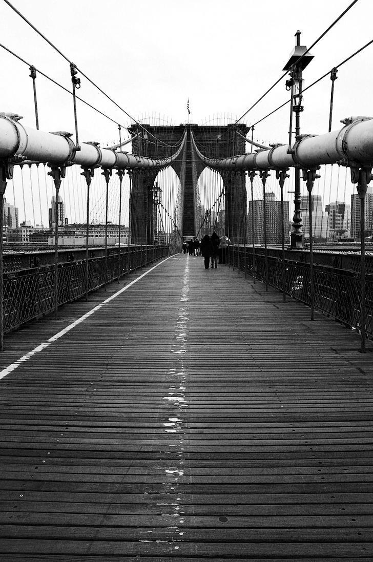 Brooklyn Bridge- black and white by marylebone on DeviantArt