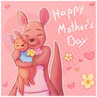 Kanga and Roo by CutieClovers