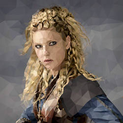 Vikings Fanart: Lagertha by Neonila