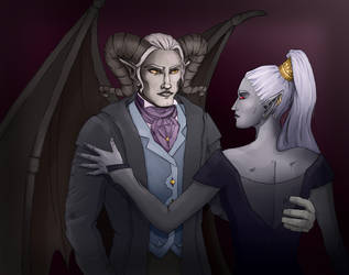 Flavio and Dris by Neonila