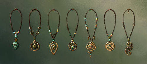 Amulets Variations by Neonila