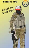 Overwatch - Tactical Soldier 76
