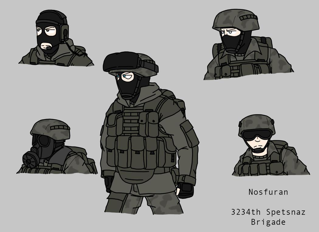 Dementophobia Concept Art-Nosfuran Spetsnaz by BloodySoldier007