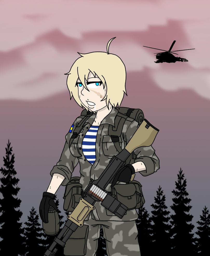 Dementophobia - Nosfuran Airborne Girl by BloodySoldier007
