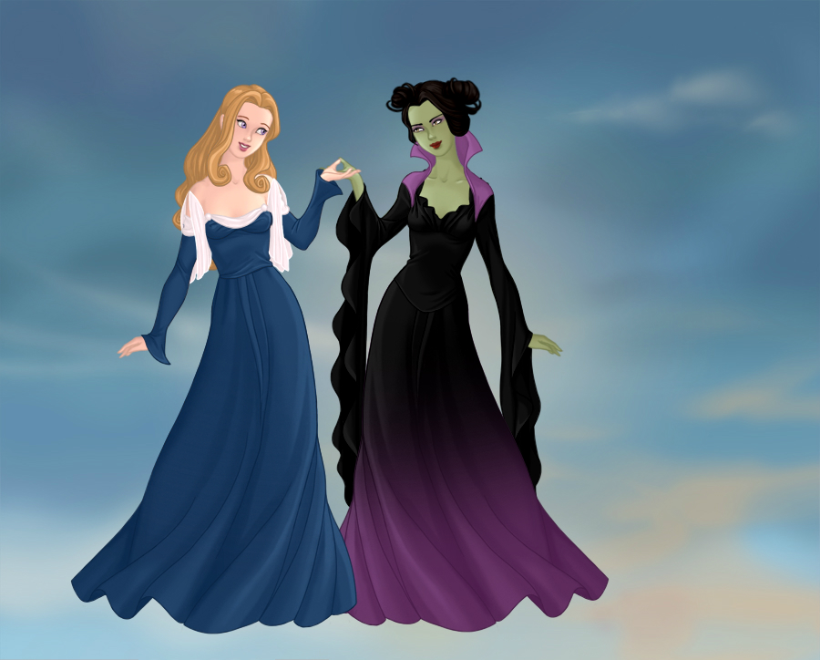 Maleficent x Aurora by cinnamonscribblez7 on DeviantArt