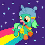 Space Unicorn by HysteriaAlice09
