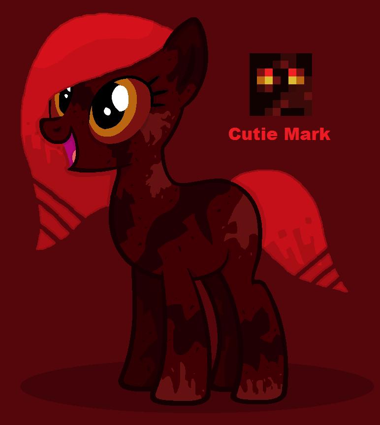 Magma Cube Pony by HysteriaAlice09 on DeviantArt