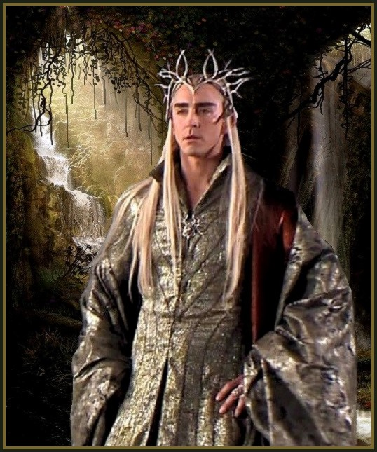 King Thranduil: Mirkwood's waterfalls by Ysydora on DeviantArt