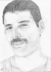 Freddie Mercury-Queen: Love of  my  life