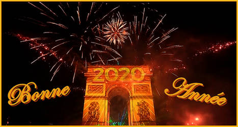 Happy New Year from France ! by Ysydora