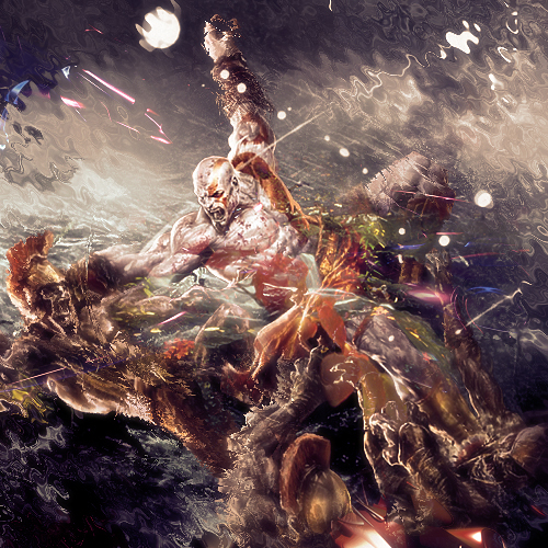 Kratos Odisea by ikarodesing