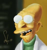 Hubert J. Farnsworth by laripopkins