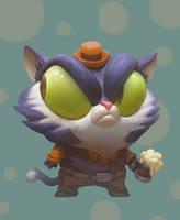 Cat by laripopkins