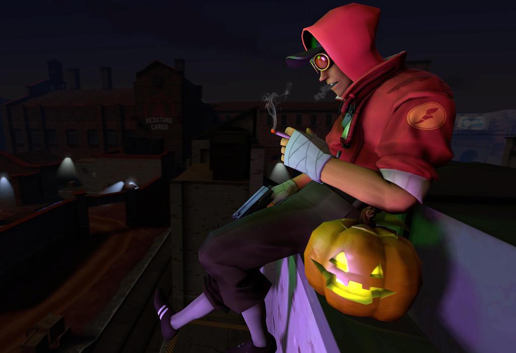 Just Another Halloween by xJamesthePunKx