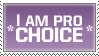 Pro-Choice Stamp by sketch-notes