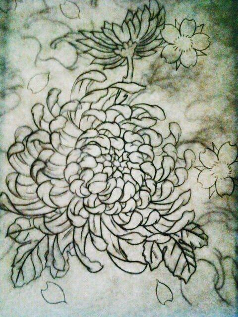 chrysanthemum flower by jessicore666 on deviantart. Black Bedroom Furniture Sets. Home Design Ideas