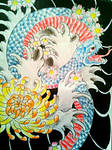 Japanese snake design by jessicore666