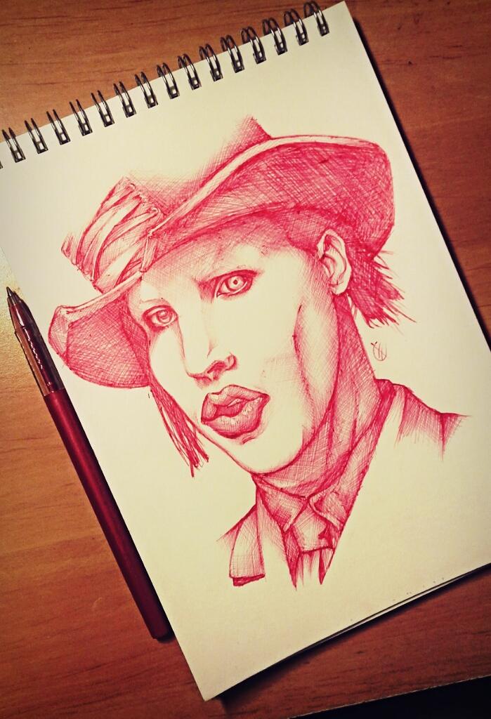 Marilyn Manson by CatherineFevrier