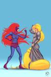 Medusa vs Rapunzel