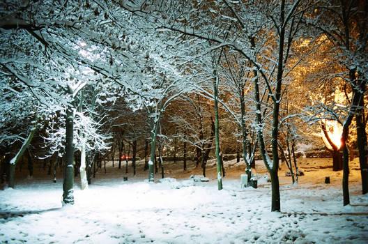 Winter at METU