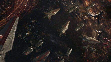 Battle of coruscant edit by tiamatnightmare