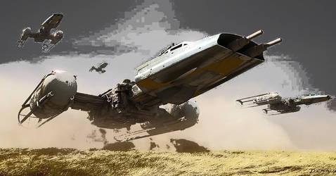 Y-wings on Dantooine edit