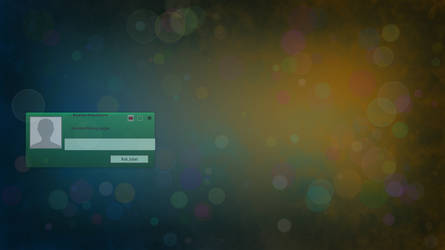 Bokeh MDM theme for linux made with phaser editor