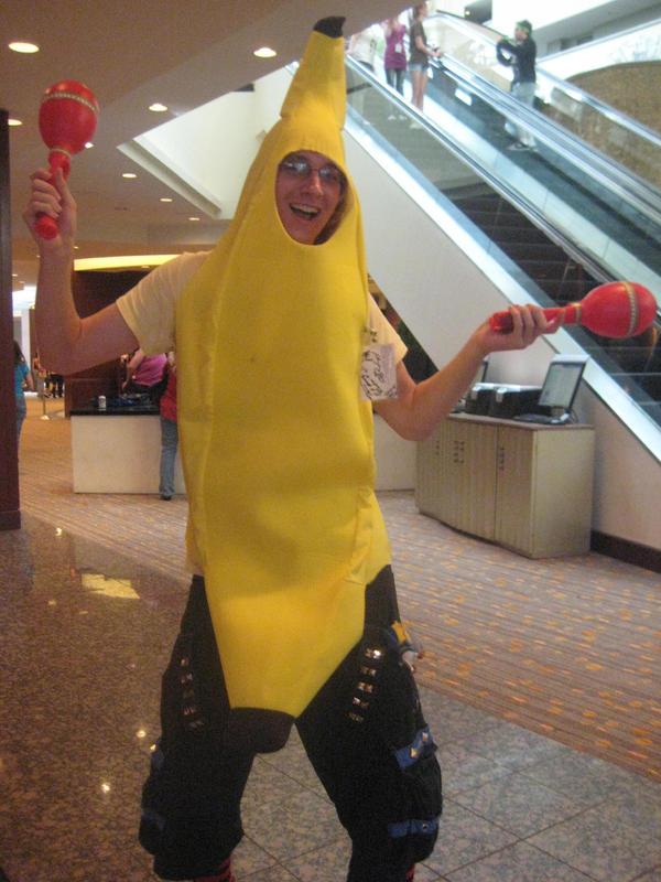 Banana Man by sayuri13