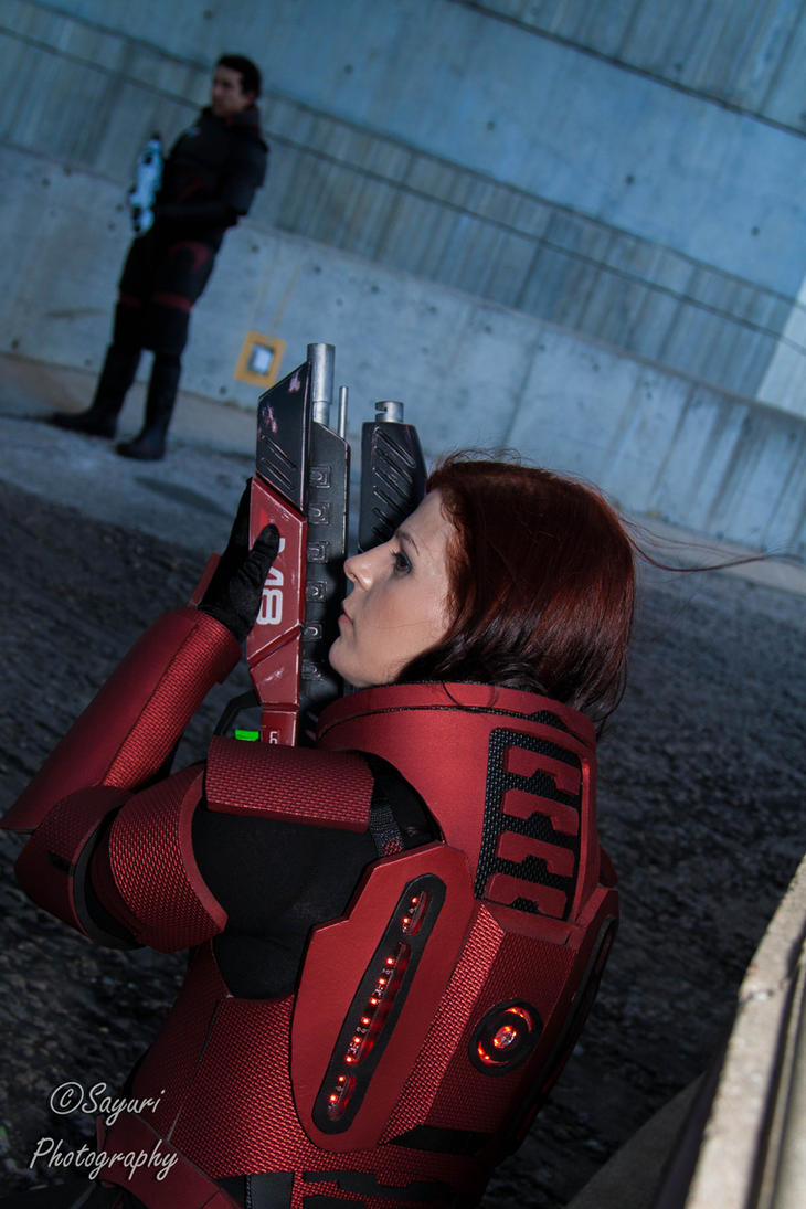 Mass Effect- Got your back by sayuri13