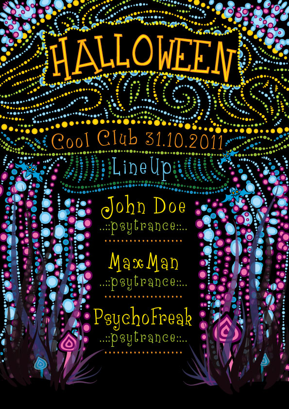 Halloween Flyer by grebenru on DeviantArt