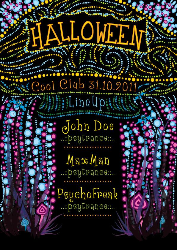 Halloween Flyer by grebenru