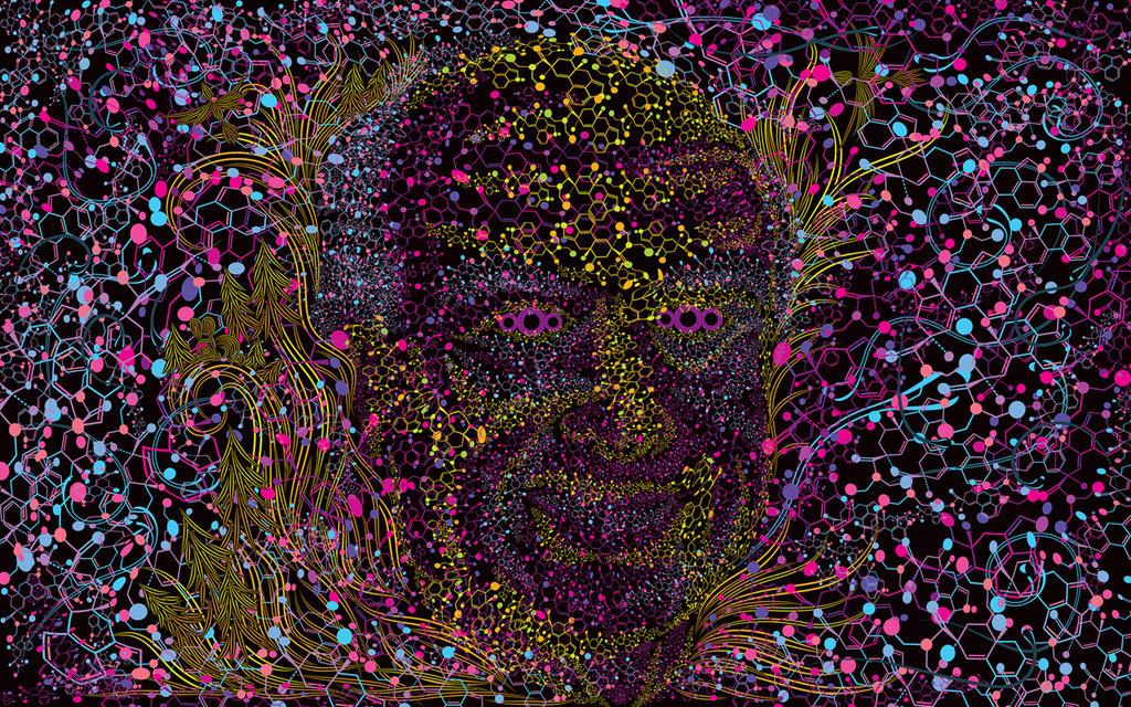 Albert Hofmann portrait by grebenru