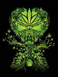 Marijuana Love Tree