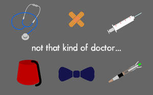 not that kind of doctor... by silvernocks