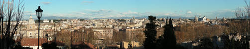 Panorama Roma by silvernocks