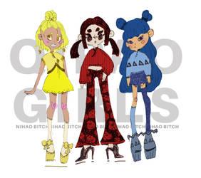 QIPAO GIRLS by DolceCircee