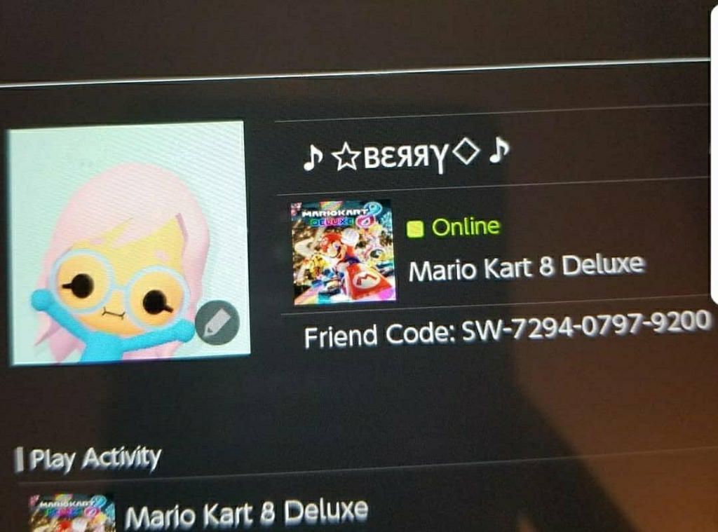 Add me on switch, doods! by NataliaCrossing