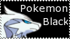 Pokemon Black Stamp by KyogreMaster