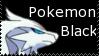 Pokemon Black Stamp by KyogreMaster