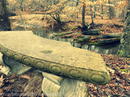 365 Project-Day 58: Lovers Bench by hourglass-paperboats