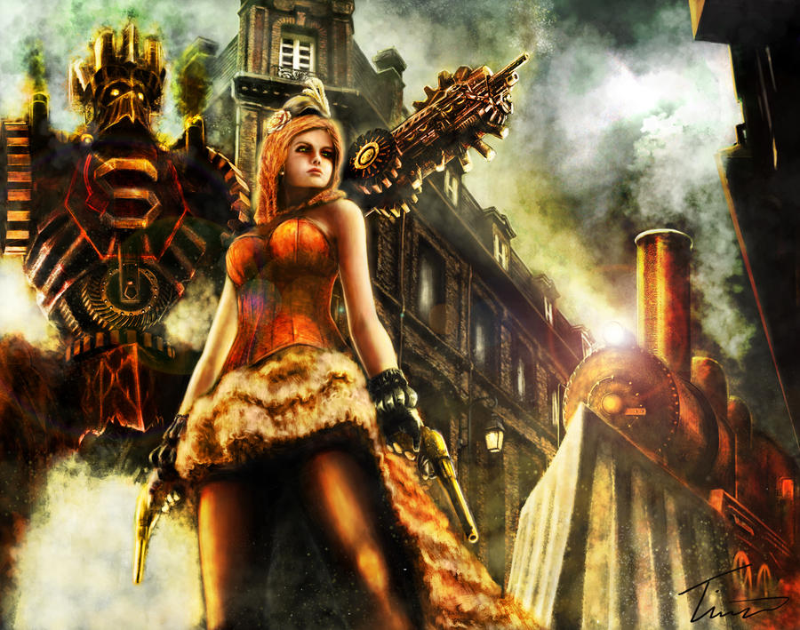 Steampunk by Timsmasher