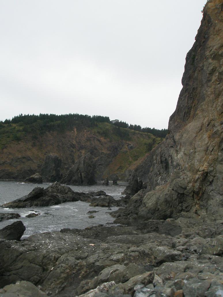 ocean rock 1 stock by Asylum-Stock