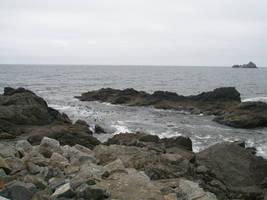ocean rocks 2 stock by Asylum-Stock