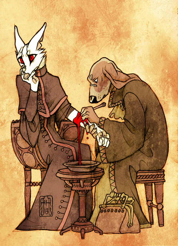 Bloodletting by CanisAlbus