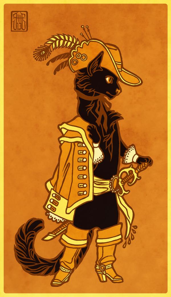 Gato Negro by CanisAlbus