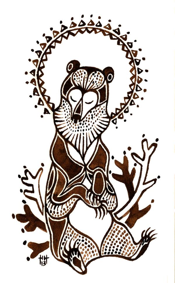Kalevankarhu by CanisAlbus