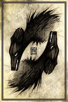 Barghest by CanisAlbus