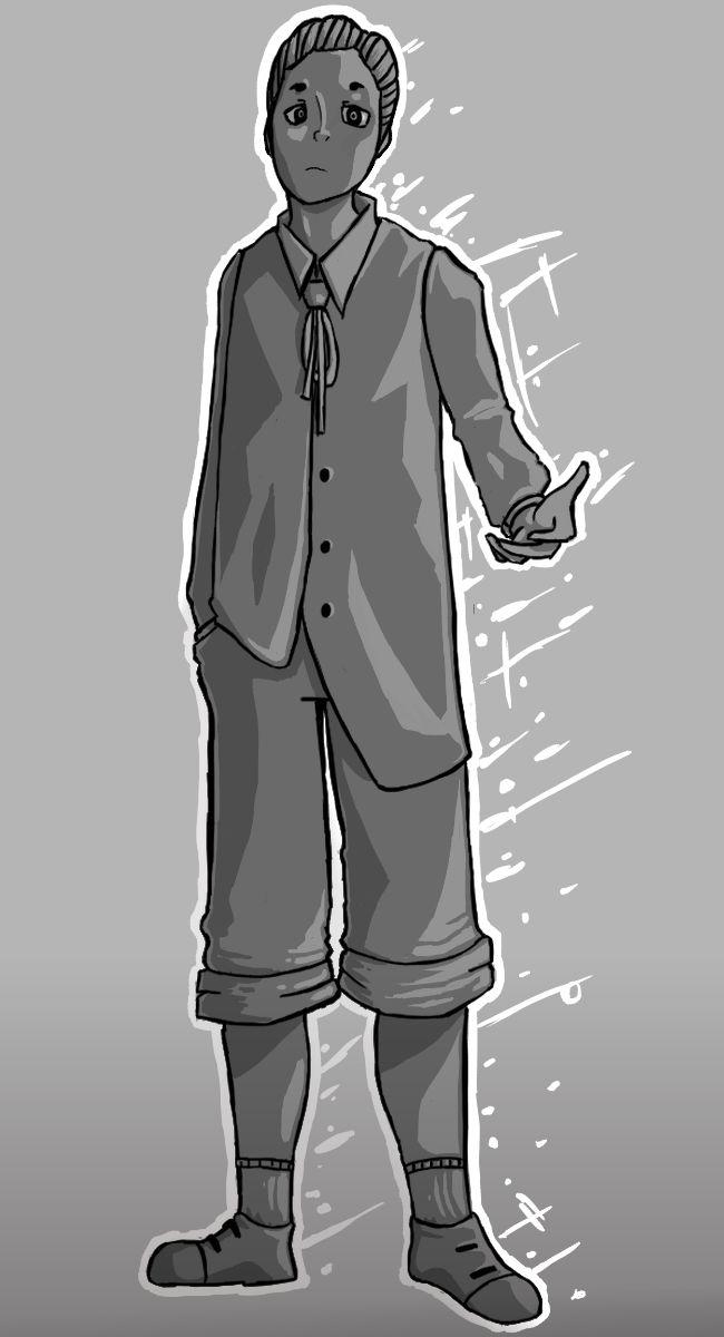 Gray Boy by Cadillion